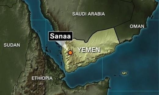 Saudi-Yemen-map
