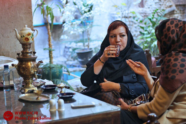 Tea, a popular hot drink with the Iranians 1