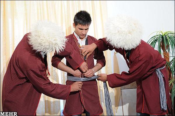 Wedding traditions of Turkmens15
