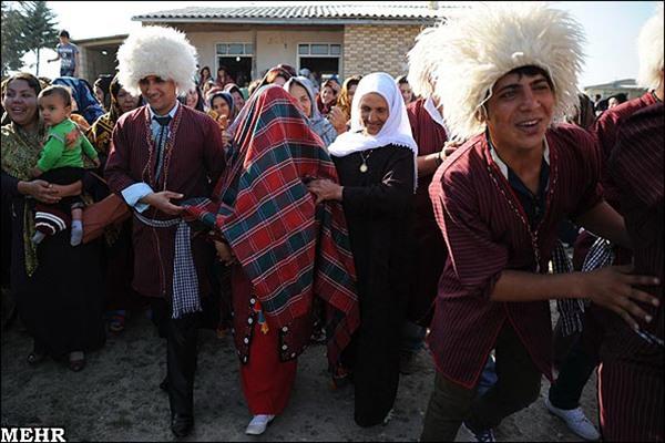 Wedding traditions of Turkmens3
