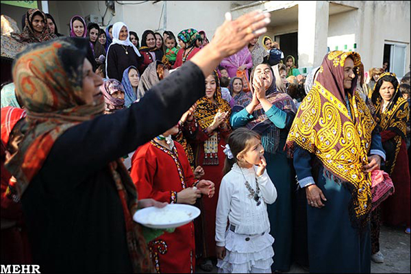 Wedding traditions of Turkmens30
