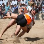 Traditional wrestling