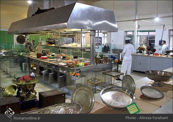kitchen at the Saadabad Palace85