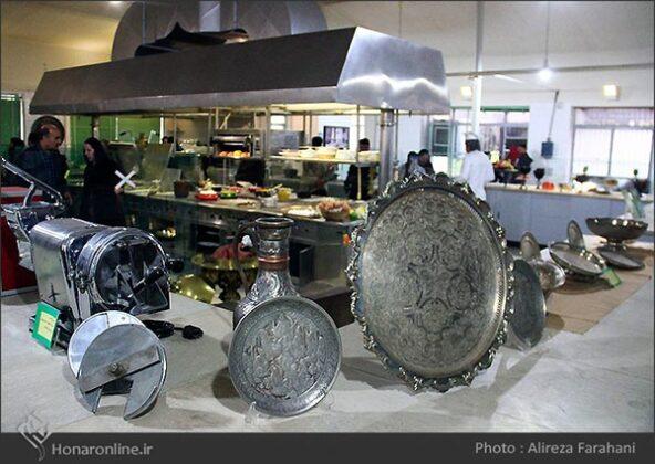 kitchen at the Saadabad Palace93