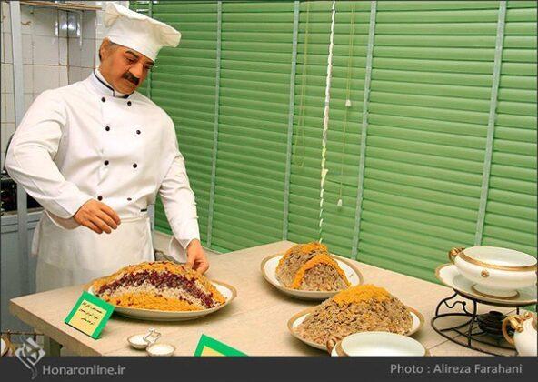 kitchen at the Saadabad Palace94