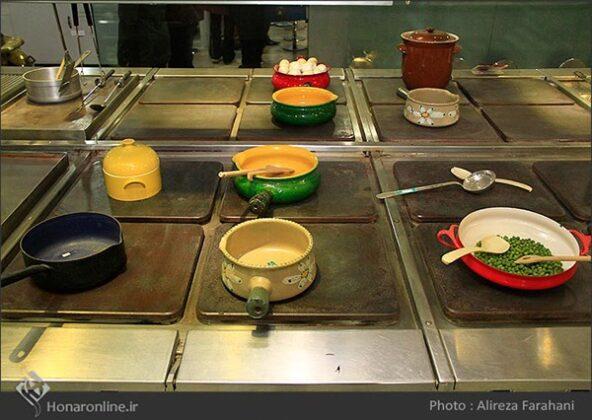 kitchen at the Saadabad Palace98