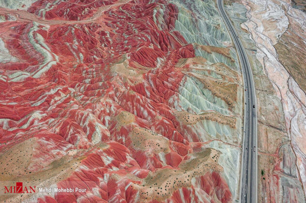 Colorful Mountains of Tabriz 9