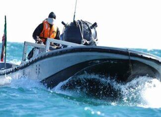 IRGC speedboat