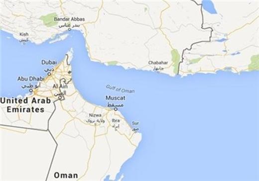 Iran-Oman-Map
