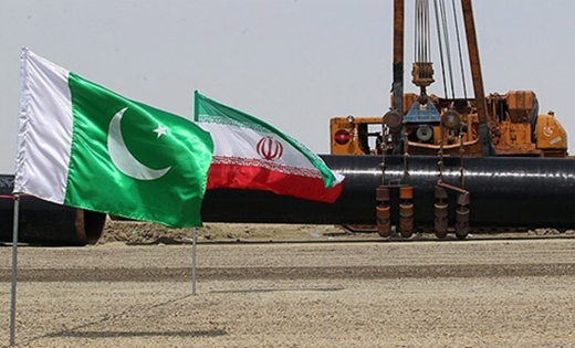Iran - Pakistan- Pipe lie