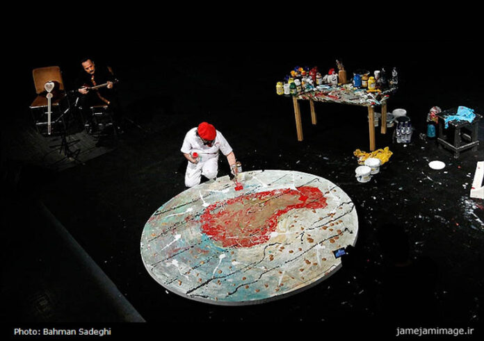 Live painting-the-music