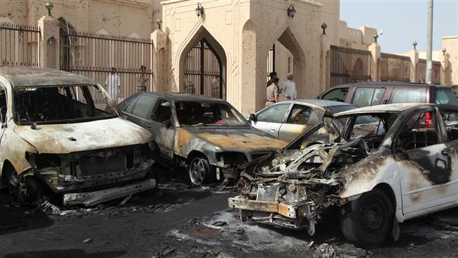 Saudi shia mosque attakcked