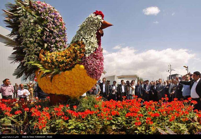 Tehran flower exhibition1