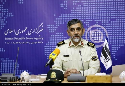 Iran's anti-narcotics police chief Ali Moayedi