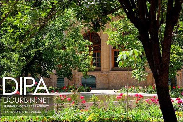 Massoudieh Mansion in Tehran
