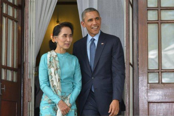 Nobel Laureate Aung San Suu Kyi