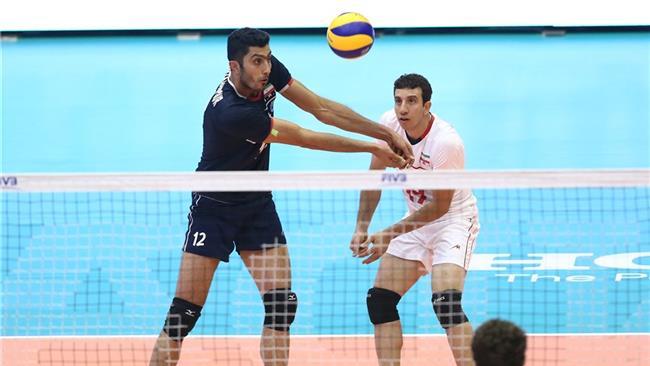 Polan-Iran-Volleyball