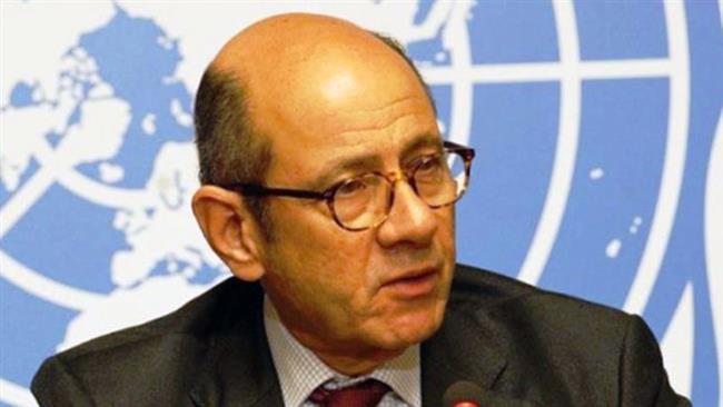 UN spokesman Ahmad Fawzi