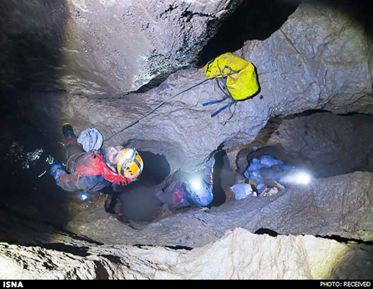 Iran's Most Dangerous Cave in Photos