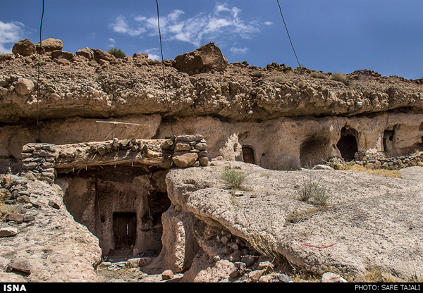 Rock Village in Southern Iran