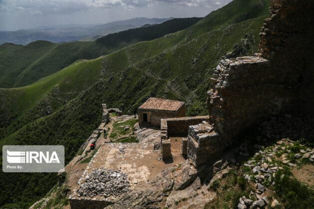 Historical Fort of Babak in Northwestern Iran