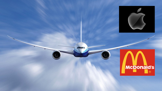 Boeing-Apple-Macdonalds