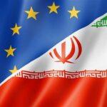 Iran-EU Flags