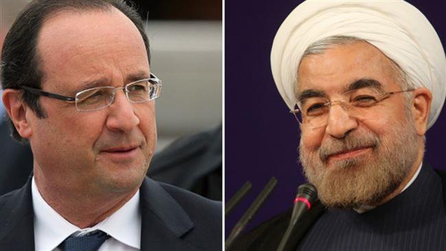 Rouhani-Francois Hollande
