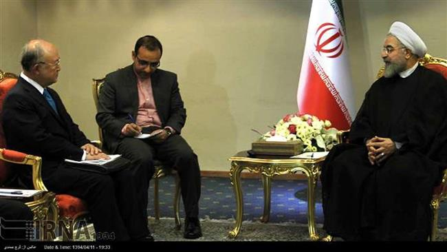 Rouhani and Amano