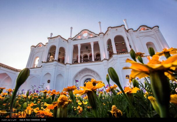 Fathabad Garden in Southern Iran