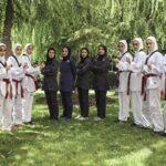Iranian female taekwondo