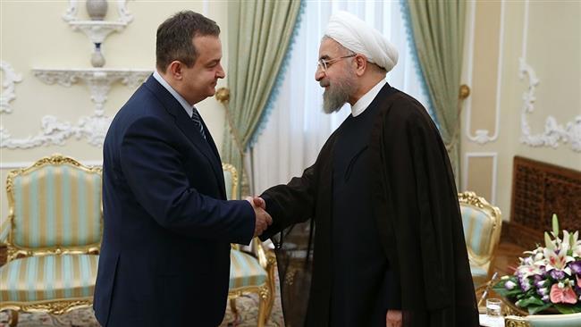Rouhani-Serbia