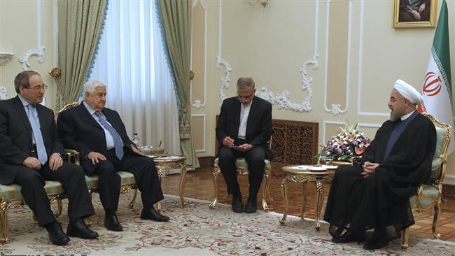 Rouhani-Walid Muallem