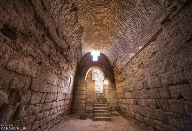 Eastern Corridor of Takht-e Soleyman