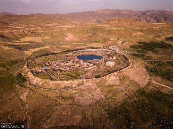 Takht-e Soleyman, northwestern Iran