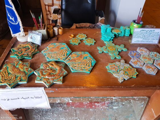 Ilkhanid Tile Designs, Iran