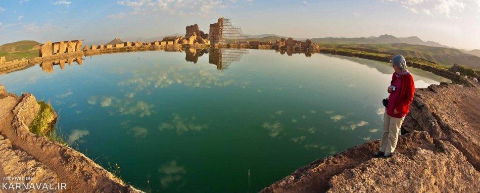 Takht-e Soleyman's Fountain