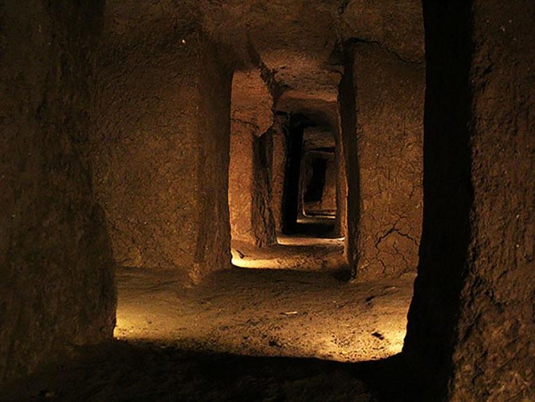 Underground city of Nooshabad