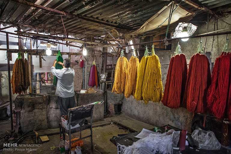 Traditional Dyeing Workshop Photos