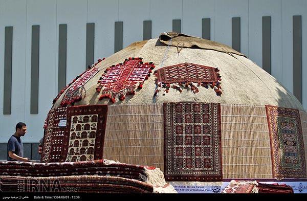 hand-woven carpet401
