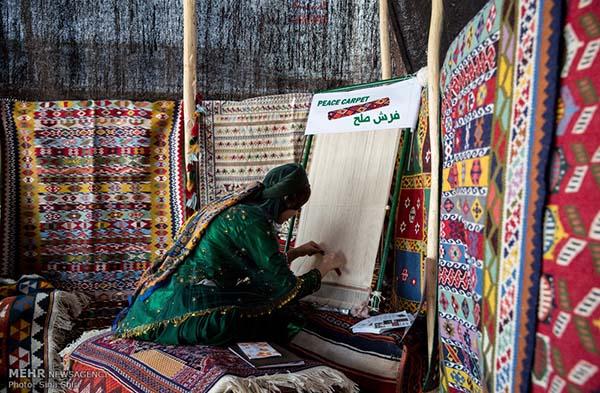 hand-woven carpet58
