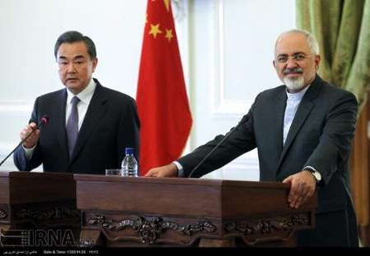 Zarif, Chinese Counterpart Discuss Peace in Afghanistan