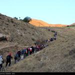 Iranian women scale mountain-4520454