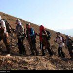 Iranian women scale mountain-4520463
