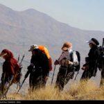 Iranian women scale mountain-4520468