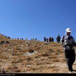 Iranian women scale mountain-4520469