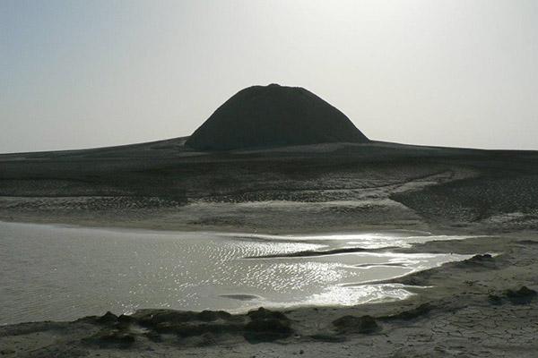 Mud Volcano of Chabahar