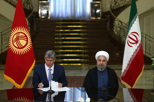 Rouhani-Kyrgyzstan