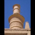 shaking adobe minaret28858