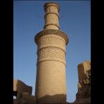 shaking adobe minaret28876